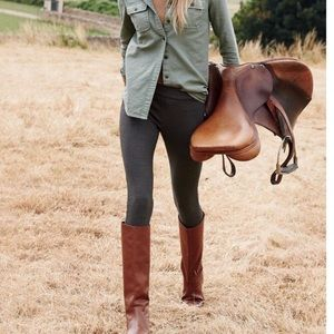 J.Crew tall leather riding boots